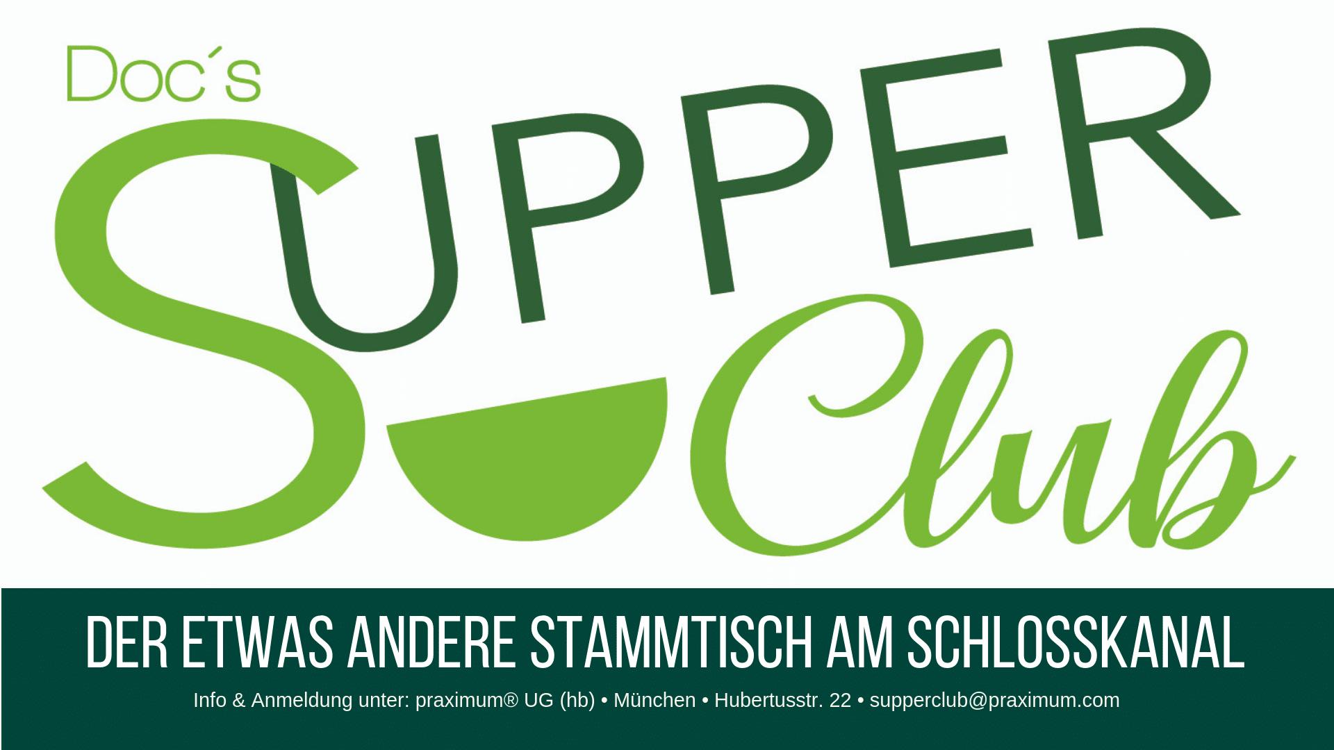 SupperClub Stammtisch für Arzt